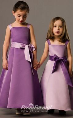 Lovely A-line Floor-length Lalic Flower Girls Dresses FGD400