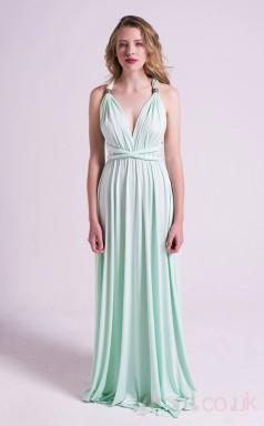 A-line Asymmetric Long Light Cyan Lace Cocktail Dresses(PRJT04-1934-E)