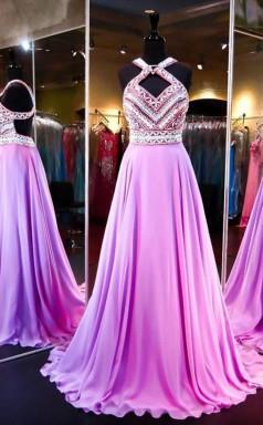 High Quality A Line Backless Evening Dress Prom Dress Evening Gowns  JTA2981