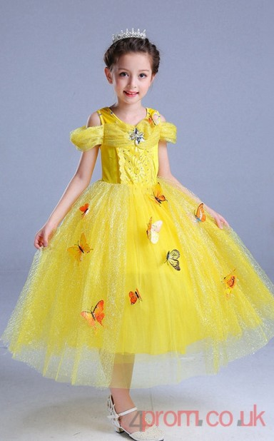 b6442567a70f Yellow Tulle