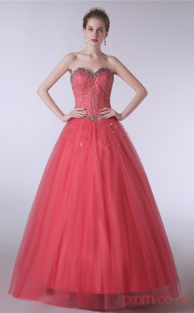 Watermelon Prom Dress UK