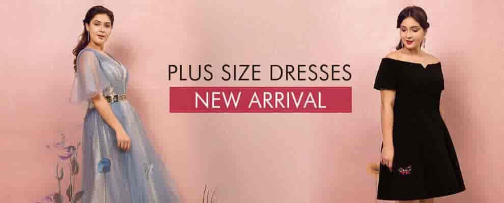new arrivel plus size dresses